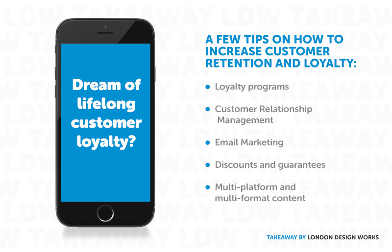LDW Takeaway Ways to Increase Customer Retention