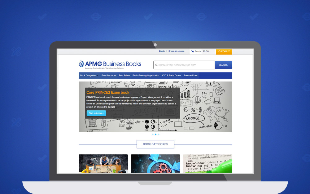 APM Group Business Books Drupal E-Commerce