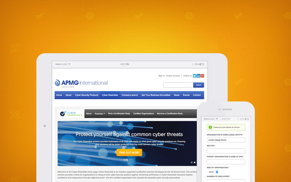 APM Group Cyber Essentials Security Website