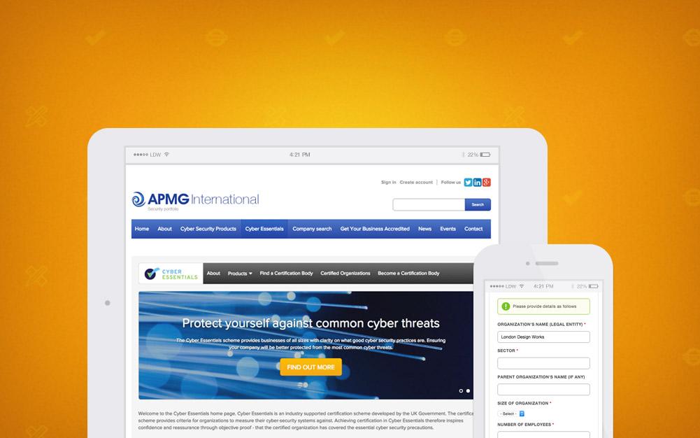 APM Group Cyber Essentials Security Website
