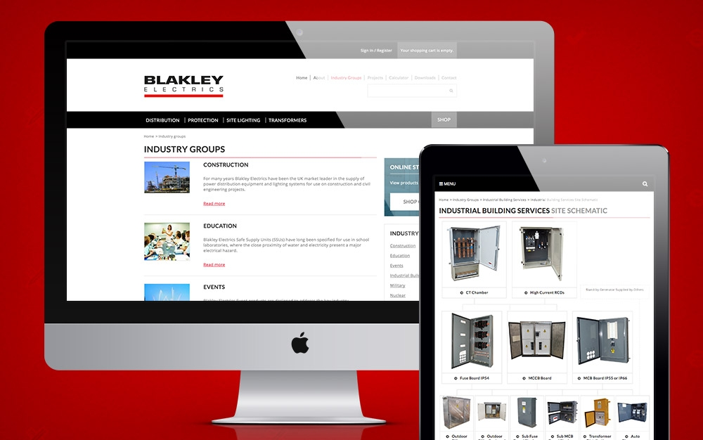 Blakley Electrics Drupal E-Commerce