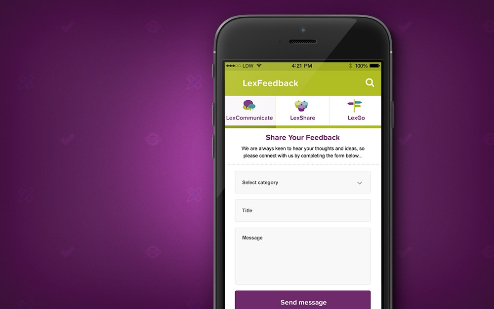 lexconnect lexington catering app